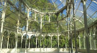 Photo of Monument / Landmark Palacio De Cristal at Parque Del Retiro, Madrid 28009 Madr, Spain