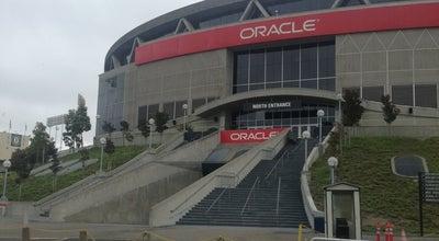 Photo of Basketball Stadium Oracle Arena at 7000 Coliseum Way, Oakland, CA 94621, United States