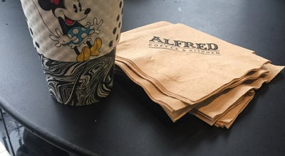 Photo of Cafe Alfred Coffee at 3337 1/2 Sunset Blvd, Los Angeles, CA 90026, United States
