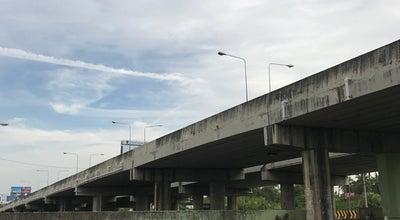 Photo of Road ถ.ราชพฤกษ์-รัตนาธิเศร์ at Om Kret, Thailand