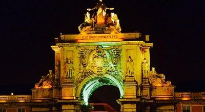 Photo of Historic Site Rua Augusta at Santa Maria Maior, Lisbon, Portugal