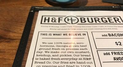 Photo of American Restaurant H&F Burger at 675 Ponce De Leon Ave Ne, Atlanta, GA 30308, United States