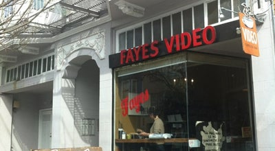 Photo of Restaurant Faye's Video & espresso bar at 3614 18th Street, San Francisco, CA 94110, United States