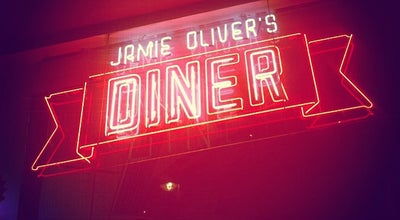 Photo of American Restaurant Jamie Oliver's Diner at 23a Shaftesbury Avenue, London W1D 7EF, United Kingdom