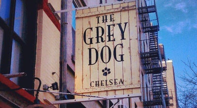 Photo of American Restaurant The Grey Dog at 242 W 16th St, New York, NY 10011, United States