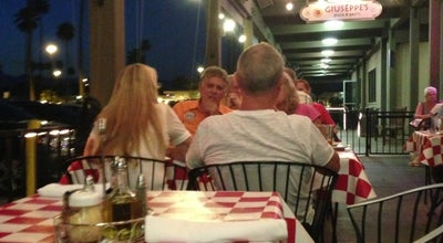 Photo of Italian Restaurant Giuseppe's at 1775 E Palm Canyon Dr., Palm Springs, CA 92264, United States