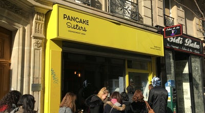 Photo of American Restaurant Pancake Sisters at 3, Rue Lucien Sampaix, Paris 75010, France