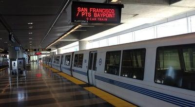 Photo of Subway San Francisco International Airport BART Station at Sfo Airport, San Francisco, CA 94128, United States