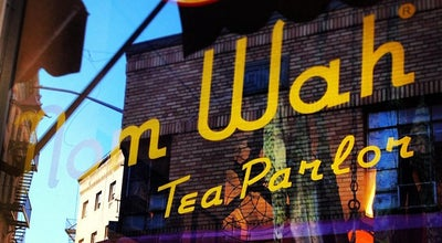 Photo of Chinese Restaurant Nom Wah Tea Parlor at 13 Doyers St, New York, NY 10013, United States
