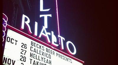 Photo of Music Venue The Rialto Theatre at 318 E Congress St, Tucson, AZ 85701, United States