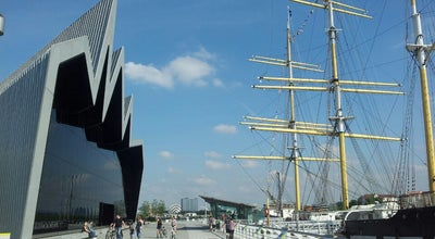 Photo of Tourist Attraction The Riverside Museum of Transport and Travel at 100 Pointhouse Place, Glasgow G3 8RS, United Kingdom