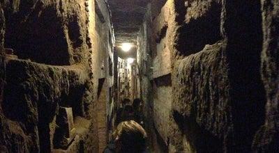 Photo of Tourist Attraction Catacombe di San Callisto at Via Appia Antica, 110/126, Rome 00179, Italy