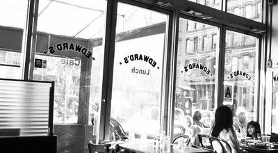 Photo of American Restaurant Edwards at 136 W Broadway, New York, NY 10013, United States
