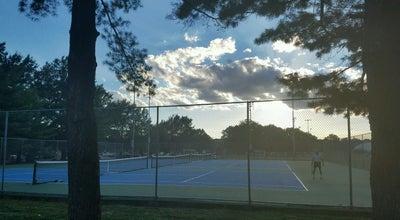 Photo of Tennis Court Gunston Park Tennis Courts at 2700 S Lang St, Arlington, VA 22206, United States