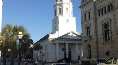 Photo of Historic Site St. Michael's Church at 71 Broad St, Charleston, SC 29401, United States