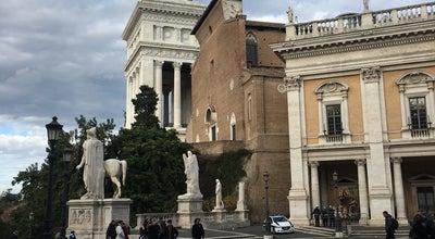 Photo of Scenic Lookout Capitoline Hill at Piazza Del Campidoglio, Rome, Italy