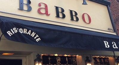 Photo of Italian Restaurant Babbo at 110 Waverly Pl, New York, NY 10011, United States
