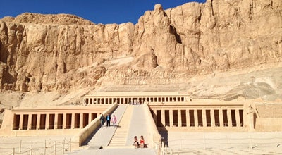 Photo of Historic Site Temple of Hatshepsut | معبد حتشبسوت at Deir Al Bahri, Luxor, Egypt