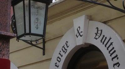 Photo of English Restaurant George and Vulture at 3 Castle Court, London EC3V 9DL, United Kingdom