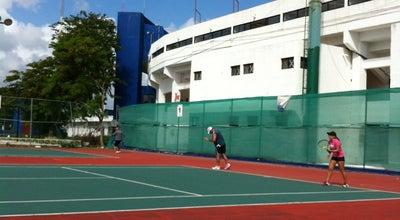 Photo of Tennis Court Canchas de Tennis Municipales at Av. Mayapán, Cancún, Mexico