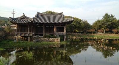 Photo of Lake 서출지 at 남산1길 17, 경주시, 경상북도, South Korea