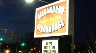 Photo of American Restaurant Alexander's Steakhouse at 620 N Bruns Ln, Springfield, IL 62702, United States