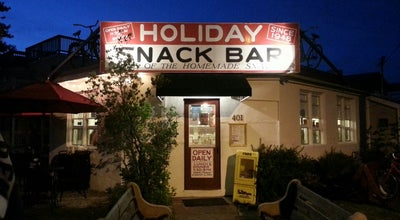 Photo of American Restaurant Holiday Snack Bar at 401 Centre St, Beach Haven, NJ 08008, United States