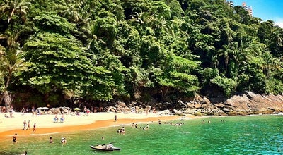 Photo of Beach Praia do Éden at Morro De Sorocotuba, Guarujá, Brazil