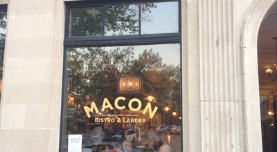 Photo of American Restaurant Macon Bistro & Larder at 5520 Connecticut Ave Nw, Washington, DC 20015, United States