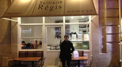 Photo of French Restaurant Huitrerie Regis at 3 Rue Montfaucon, Paris 75006, France