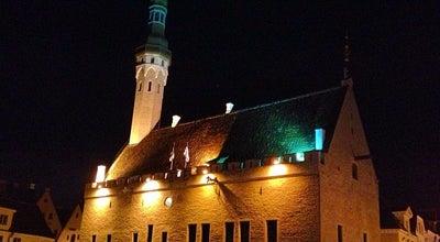 Photo of Monument / Landmark Town Hall Square at Raekoja Plats, Tallinn, Estonia