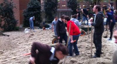 Photo of Beer Garden Bookstock Beach Event at Namur, Belgium