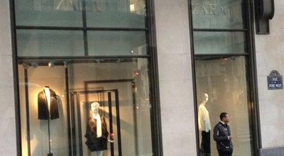 Photo of Clothing Store Zara at 75 Rue De Rivoli, Paris 75004, France