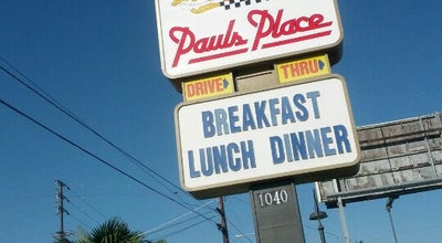 Photo of Restaurant Paul's Place at 1040 N Magnolia Ave, Anaheim, CA 92801, United States