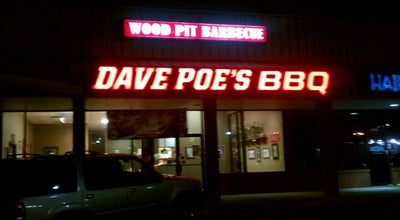 Photo of American Restaurant Dave Poe's BBQ at 660 Whitlock Ave Nw, Marietta, GA 30064, United States