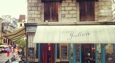 Photo of French Restaurant Chez Julien at 1 Rue Du Pont Louis Philippe, Paris 75004, France