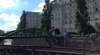Photo of Bridge Zollamtssteg at Zollamtssteg, Vienna, Austria