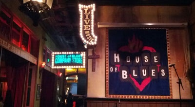 Photo of Cajun / Creole Restaurant House of Blues Restaurant & Bar San Diego at 1055 Fifth Ave., San Diego, CA 92101, United States