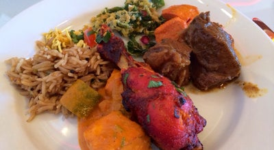 Photo of Indian Restaurant Saffron Indian Cuisine at 1077 W. Broad Street, Falls Church, VA 22043, United States
