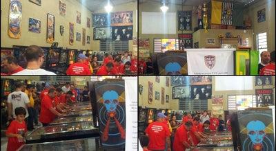 Photo of Arcade Pinball Clube Boituva at Rua Estrela Gomes Bertolli,195, Boituva 18550-000, Brazil