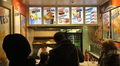 Photo of Food Vlaamse Frites at Damrak 58, Amsterdam 1012 LL, Netherlands