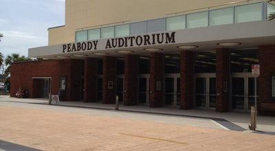 Photo of Concert Hall Peabody Auditorium at 600 Auditorium Blvd, Daytona Beach, FL 32118, United States