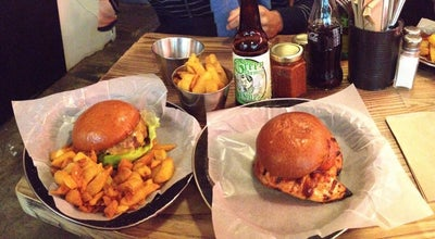 Photo of American Restaurant Bukowski Grill at Unit 10 Market Row, London SW9 8JB, United Kingdom