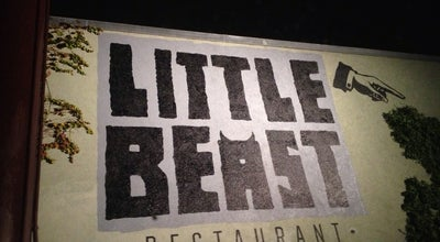 Photo of American Restaurant The Little Beast at 1496 Colorado Blvd, Los Angeles, CA 90041, United States