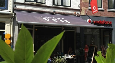 Photo of Mediterranean Restaurant Lunchcafe Vrij at Brabantse Turfmarkt 61, Delft 2611, Netherlands