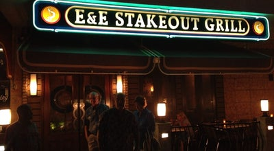 Photo of American Restaurant E&E Stakeout Grill at 100 Indian Rocks Rd N, Belleair Bluffs, FL 33770, United States