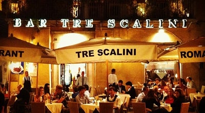 Photo of Italian Restaurant Tre Scalini at Piazza Navona 28, Rome 00186, Italy