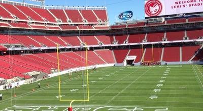 Photo of Football Stadium Levi's Stadium at 4900 Marie P Debartolo Way, Santa Clara, CA 95054, United States