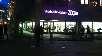Photo of Library 300 m2 - Stadsbiblioteket at Södra Hamngatan 57, Göteborg 411 06, Sweden