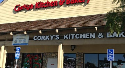 Photo of American Restaurant Corky's Kitchen & Bakery at 6403 Haven Ave Ste 106, Rancho Cucamonga, CA 91737, United States